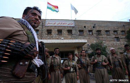 Kurdish Peshmerga militia