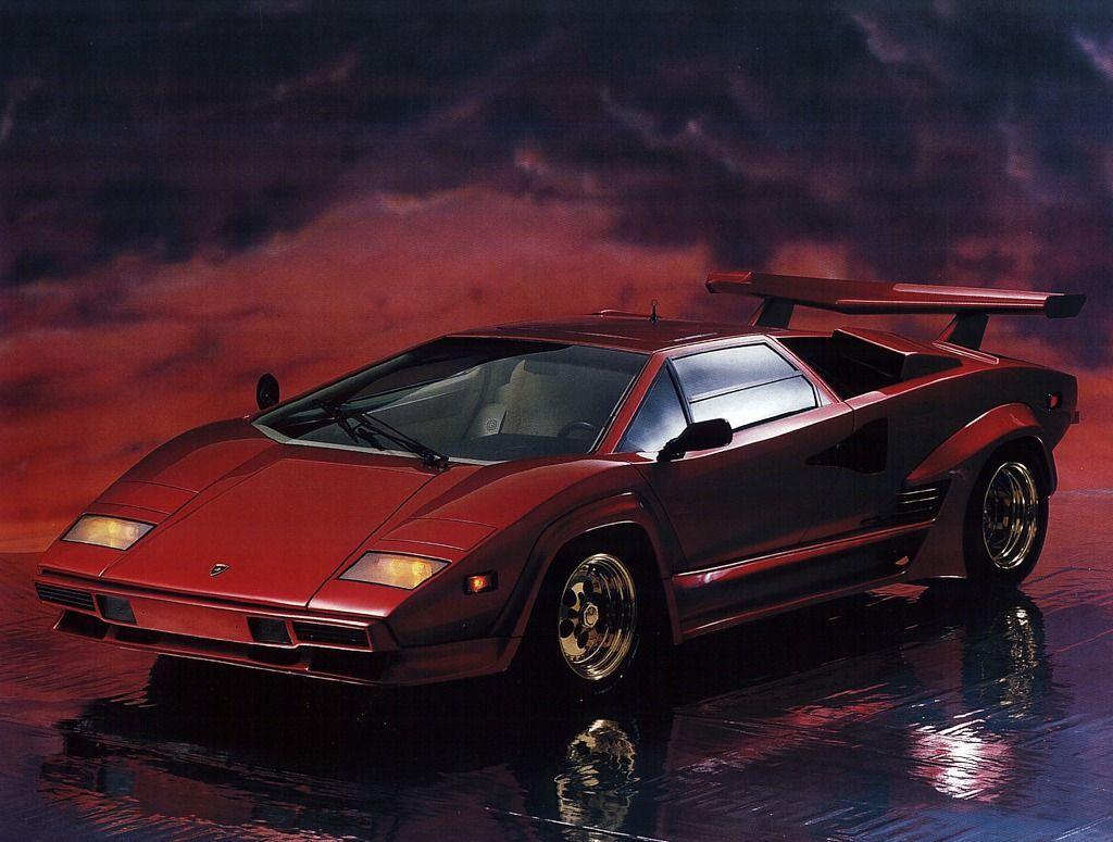 Lamborghini Countach poster 80\u0027s