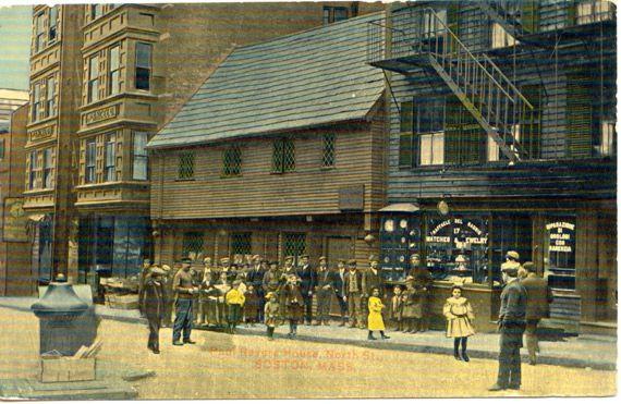 The Paul Revere House Circa 1908