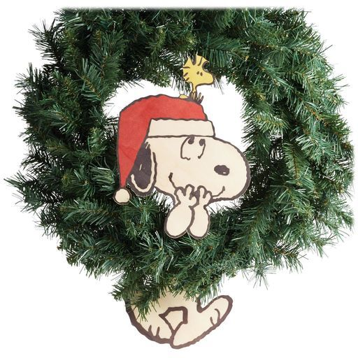 Snoopy And Woodstock Christmas Ornaments.Snoopy And Woodstock Wreath Dangler Peanuts Characters