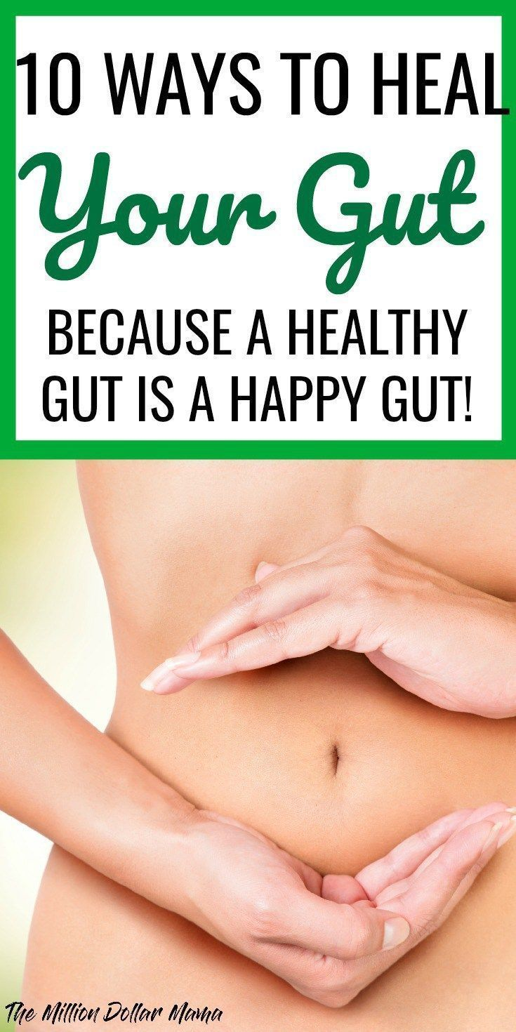 How To Heal Your Gut - An unhealthy gut can wreak havoc on your entire body. Click through to read the signs of poor gut health and find out 10 ways you can heal your gut.