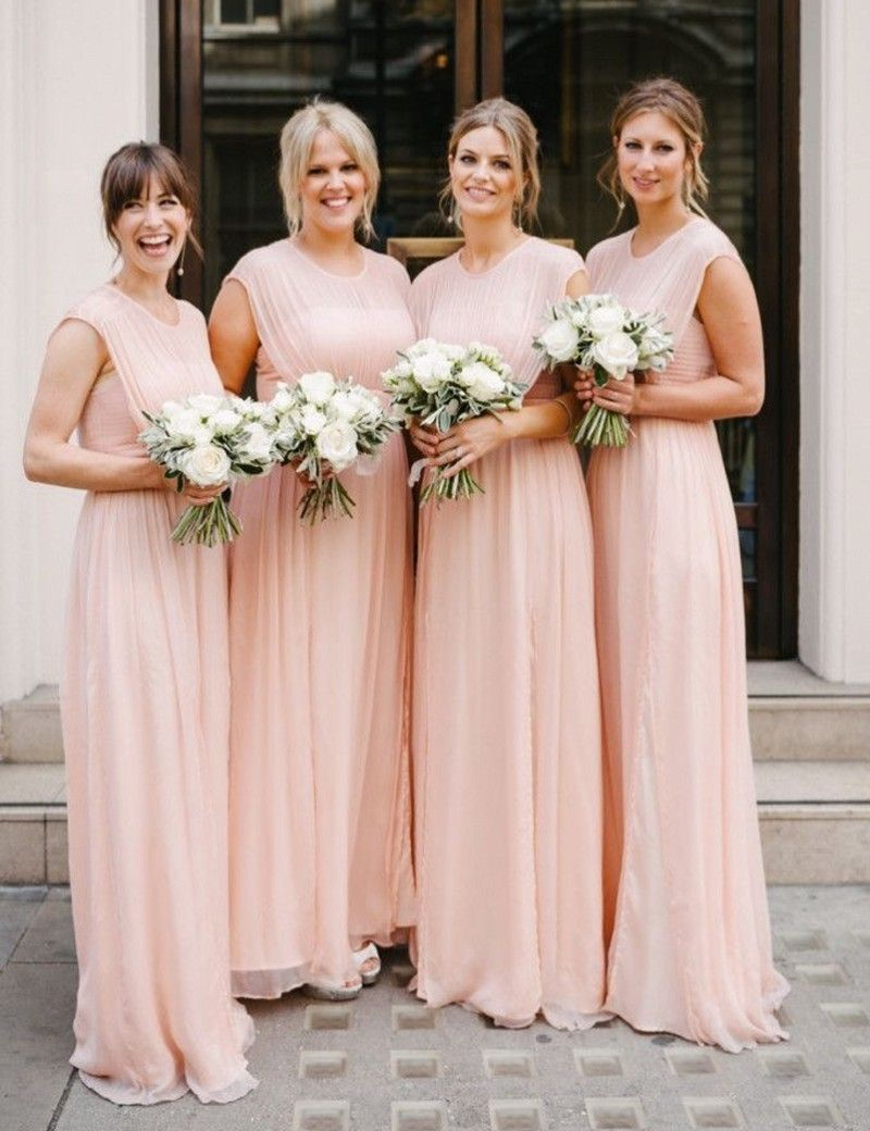 Click to buy lovely cute baby pink long bridesmaid gowns blue click to buy lovely cute baby pink long bridesmaid gowns blue ombrellifo Image collections