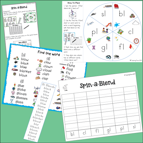 L Blends Worksheets And Activities Kindergarten Reading