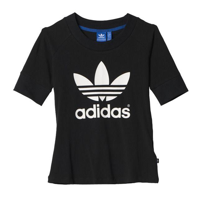 Camiseta de mujer Training Snap Adidas | Marca de ropa, Ropa ...