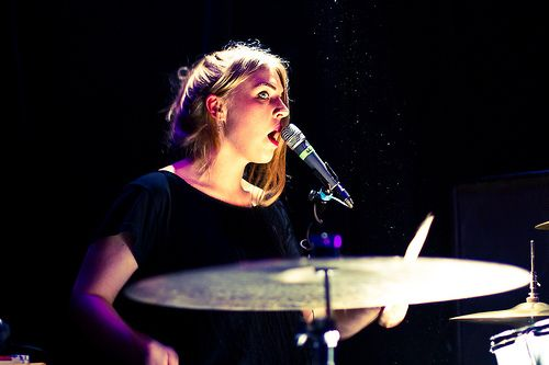 Rebecca Taylor of Slow Club