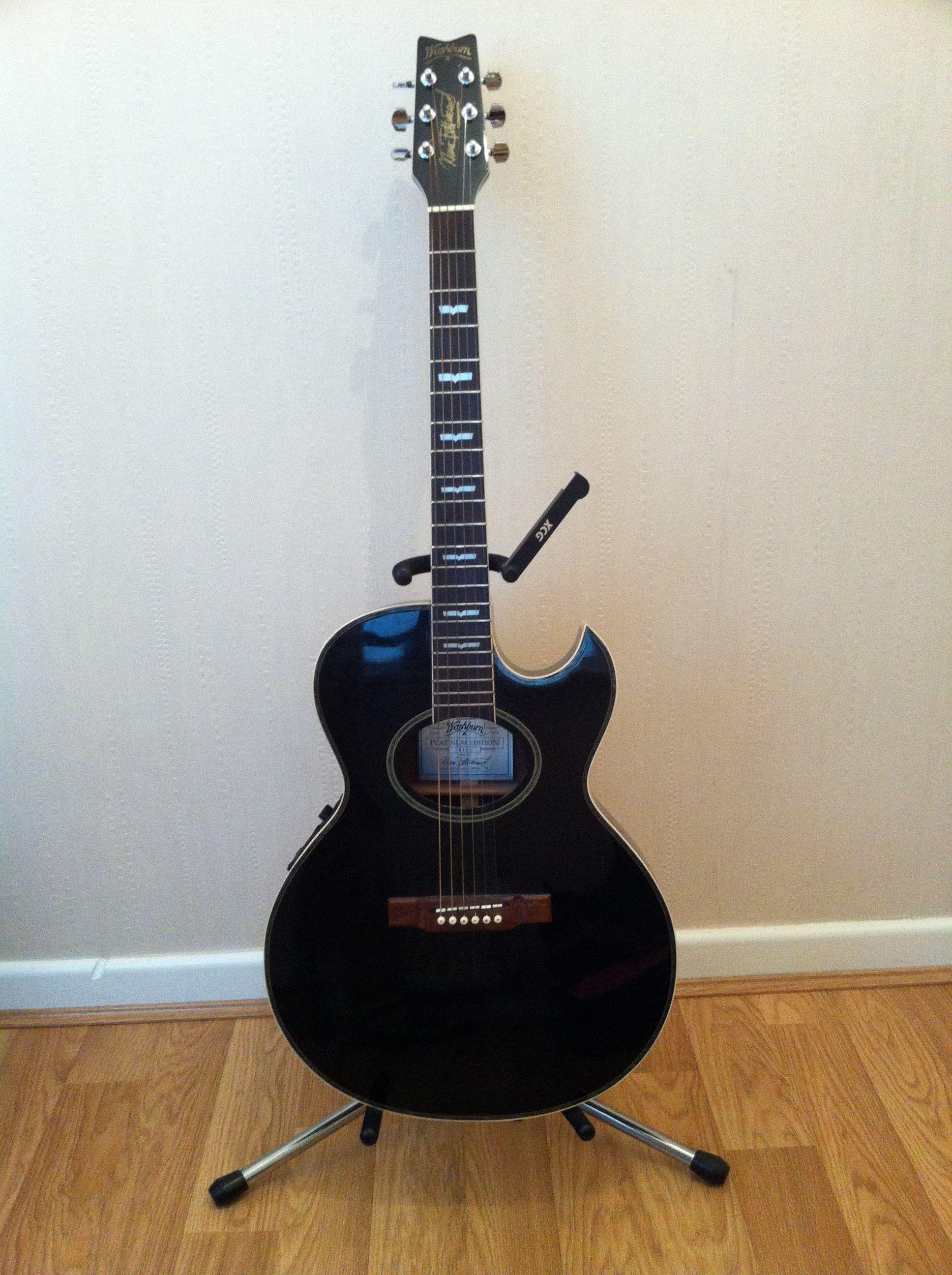 washburn ea22 semi acoustic nuno bettencourt signature guitars rh pinterest com Washburn N1 Nuno Bettencourt Nuno Bettencourt Model 2000