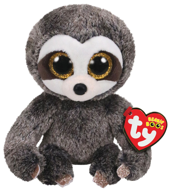 Ty Inc Beanie Boos Regular Dangler The Sloth Brown Em 2020