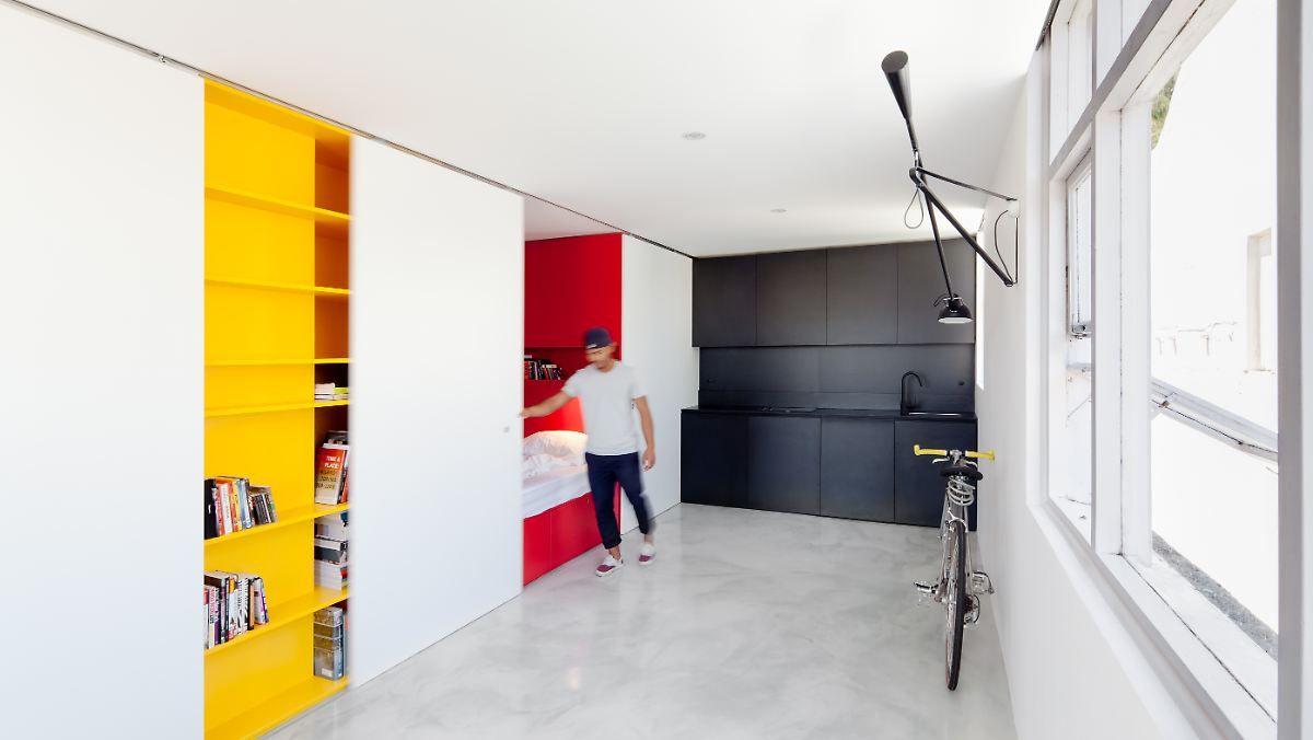 platz ist in der kleinsten htte groe ideen fr kleine wohnungen - Kleine Studio Design Ideen