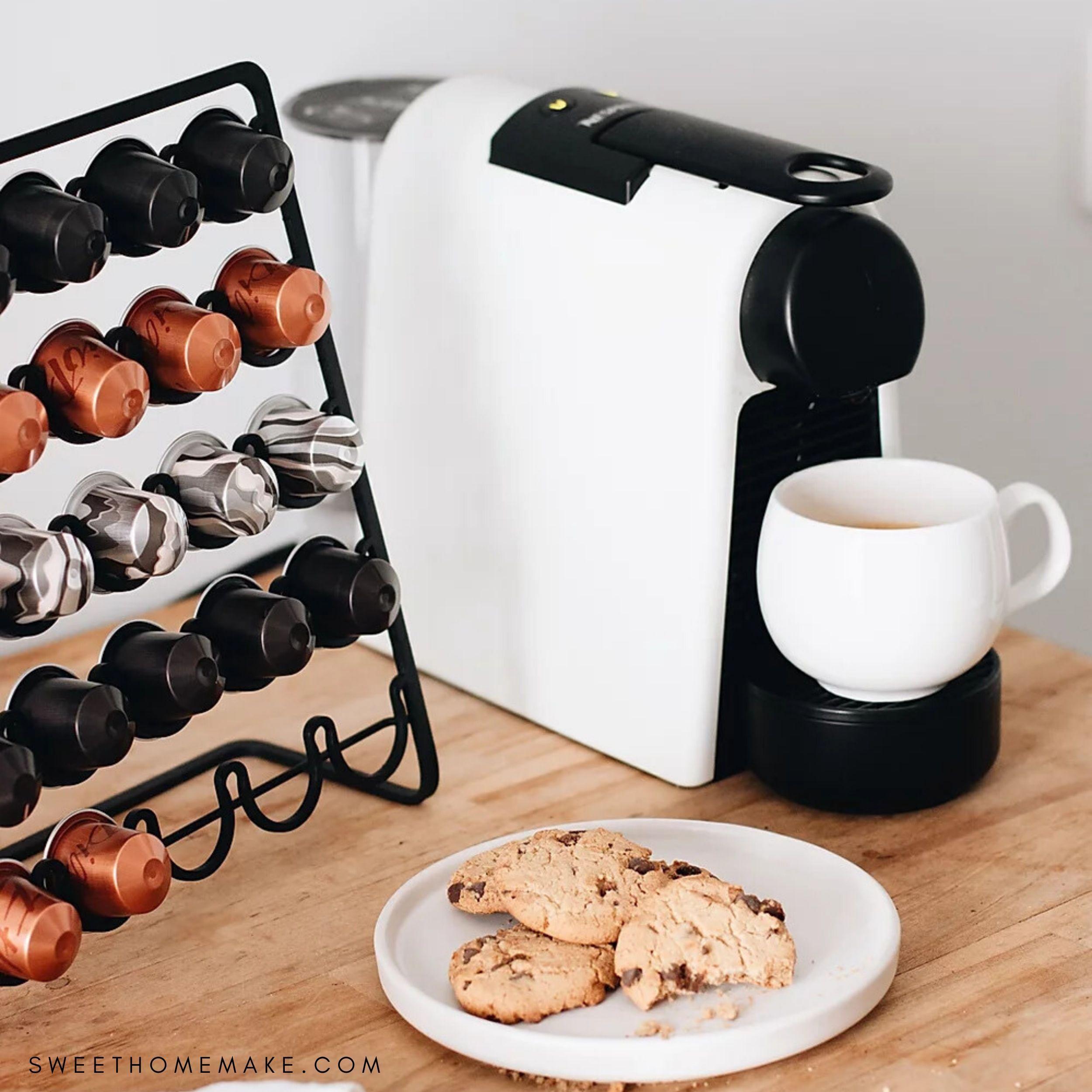 Photo of Nespresso Kapselhållare till Mässing och Koppar Inredning Dekoration