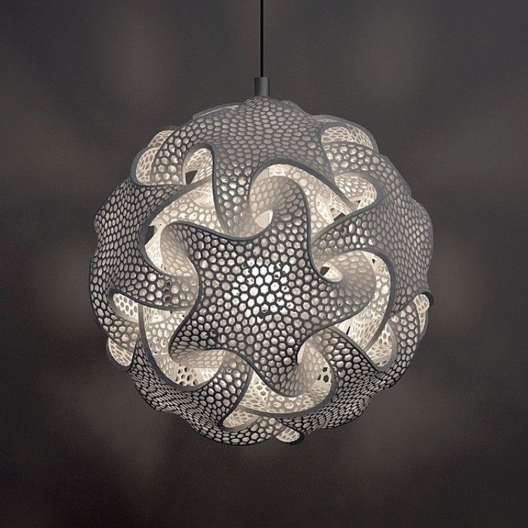 51 Most Awesome 3d Printed Lamps Lampendesign 3d Laser Und 3d Prints