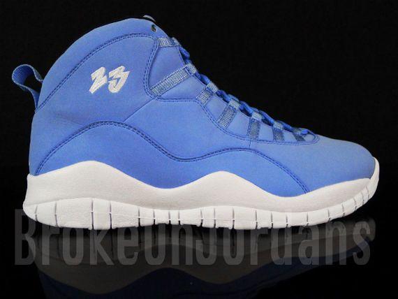 """Air Jordan 10 """"University Blue"""
