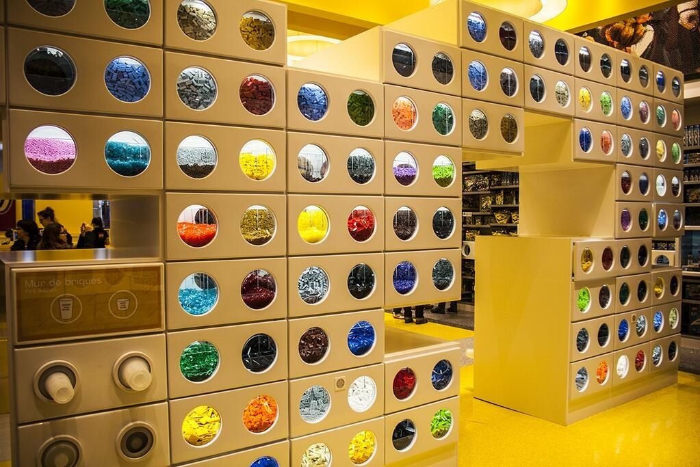 Lego store. | Disneyland in Paris | Pinterest | Lego store and Lego