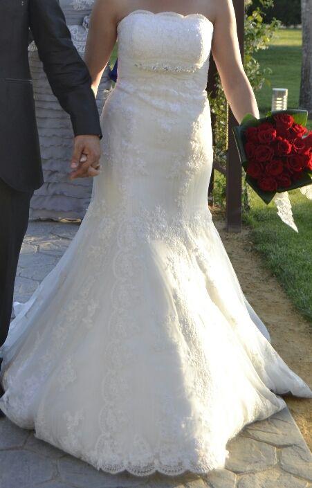 nuevo vestido publicado! lugo novias mod. 3124 ¡por sólo 600