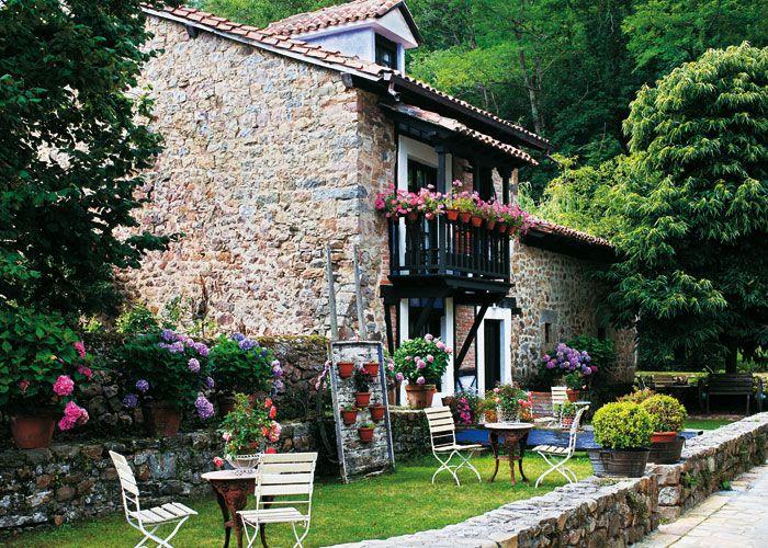 Siempre guapa con norma cano jardin casas acogedoras for Como decorar mi patio con piedras
