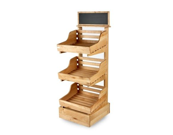 Retail Display Stands Wood Wicker Display Stands 3 Tier Wooden Display Stand Http Www Heartbe Wooden Display Stand Bakery Display Case Bakery Display