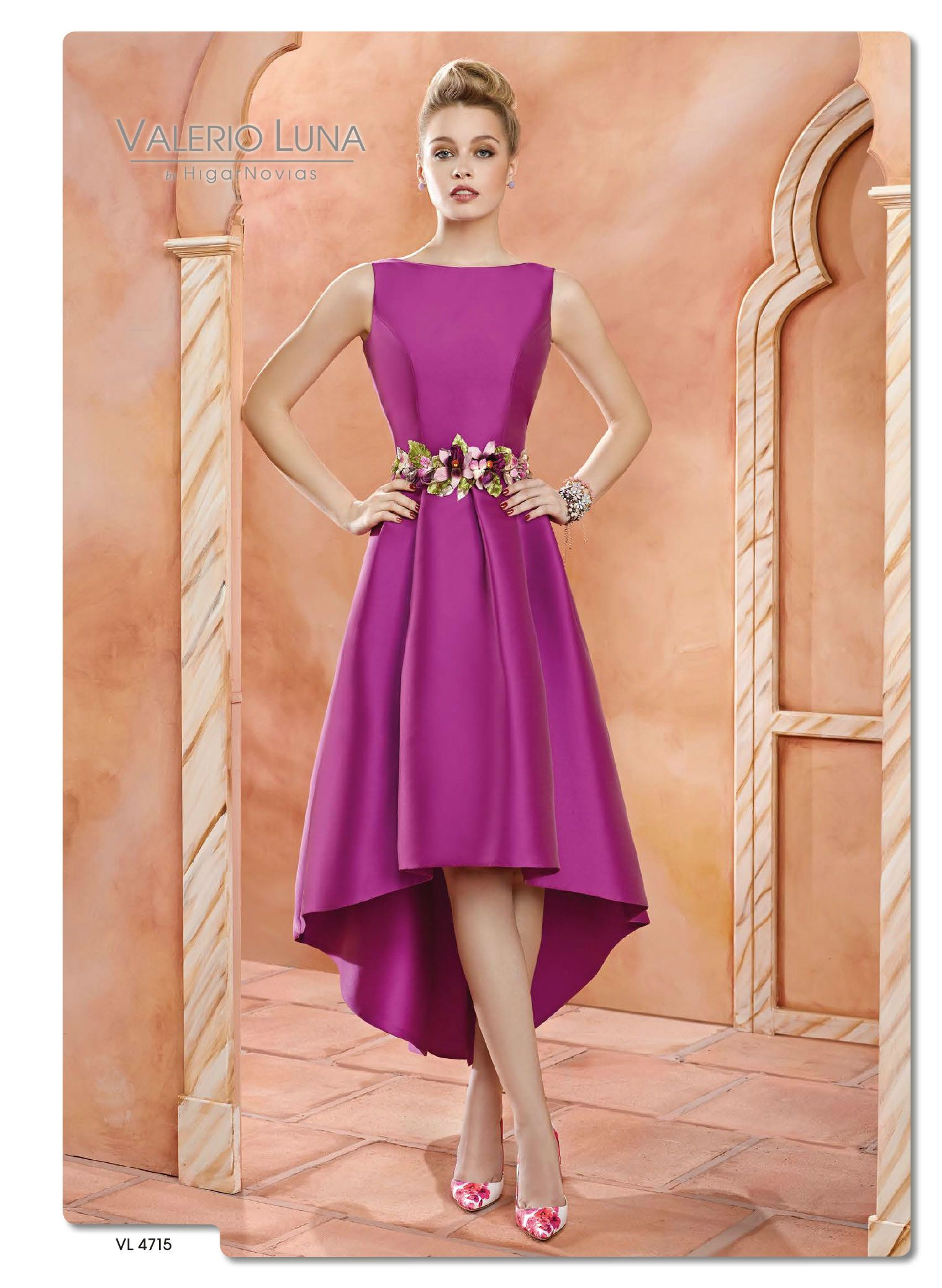 vestido de fiesta valerio luna (4) | fiesta niña | Pinterest ...