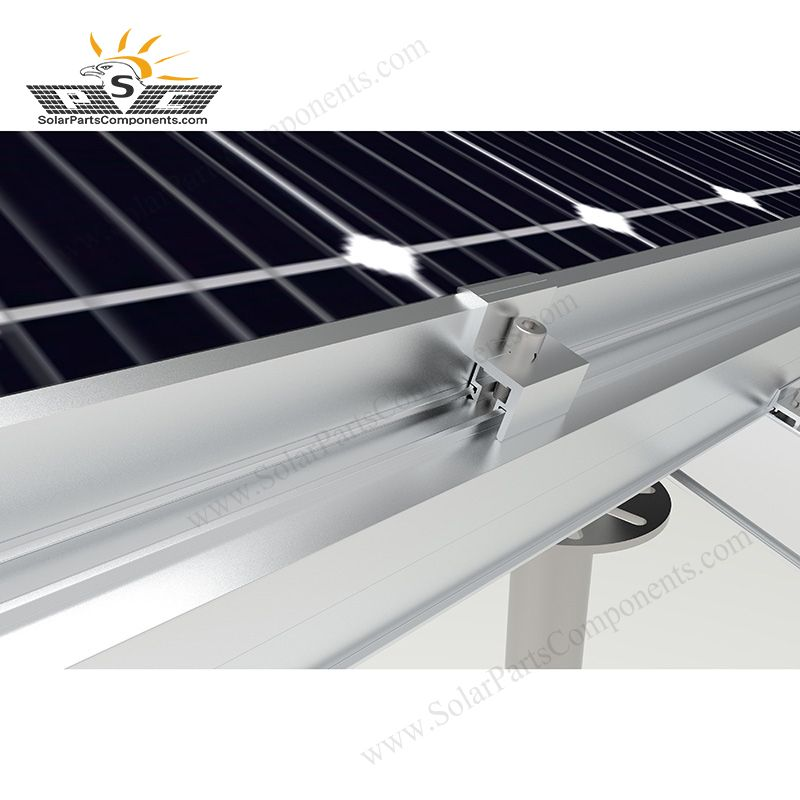 Solar Panel Rail End Clamp In 2020 Solar Panel Mounts Solar Panels Roof Solar Panel