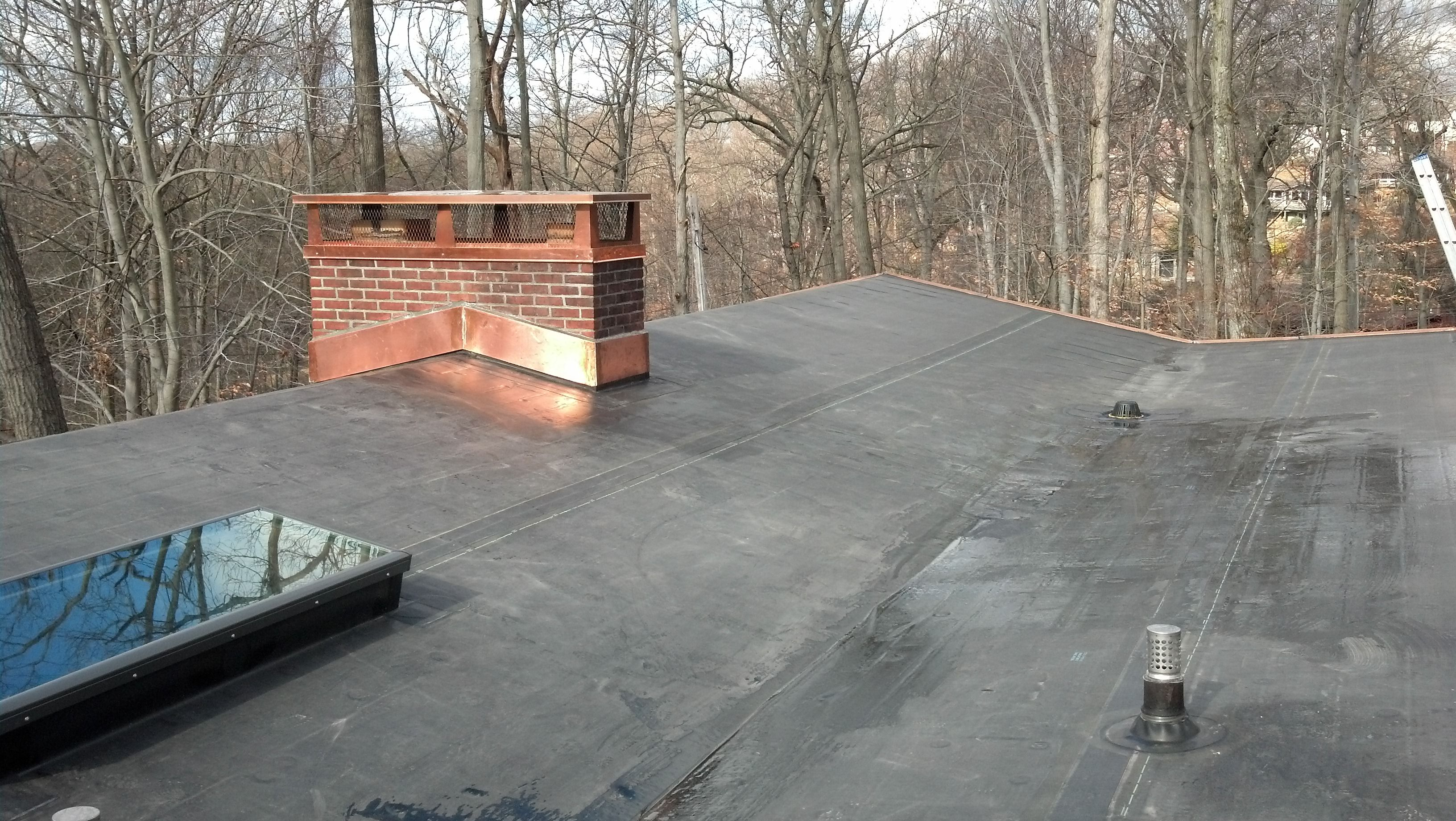 Low Slope Flat Roofs Remodeling Renovation Flat Roof Flat Roof Installation