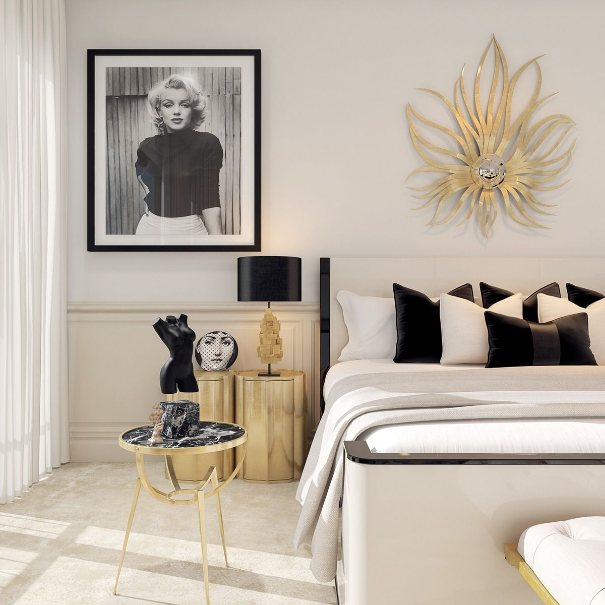 Best A Modern Art Deco Home Visualized In Two Styles Modern 640 x 480