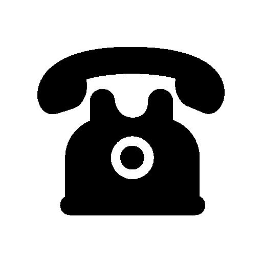 Telephone Of Black Vintage Design Free Vector Icons Designed By Freepik Vintage Designs Vector Icon Design Black And White Design