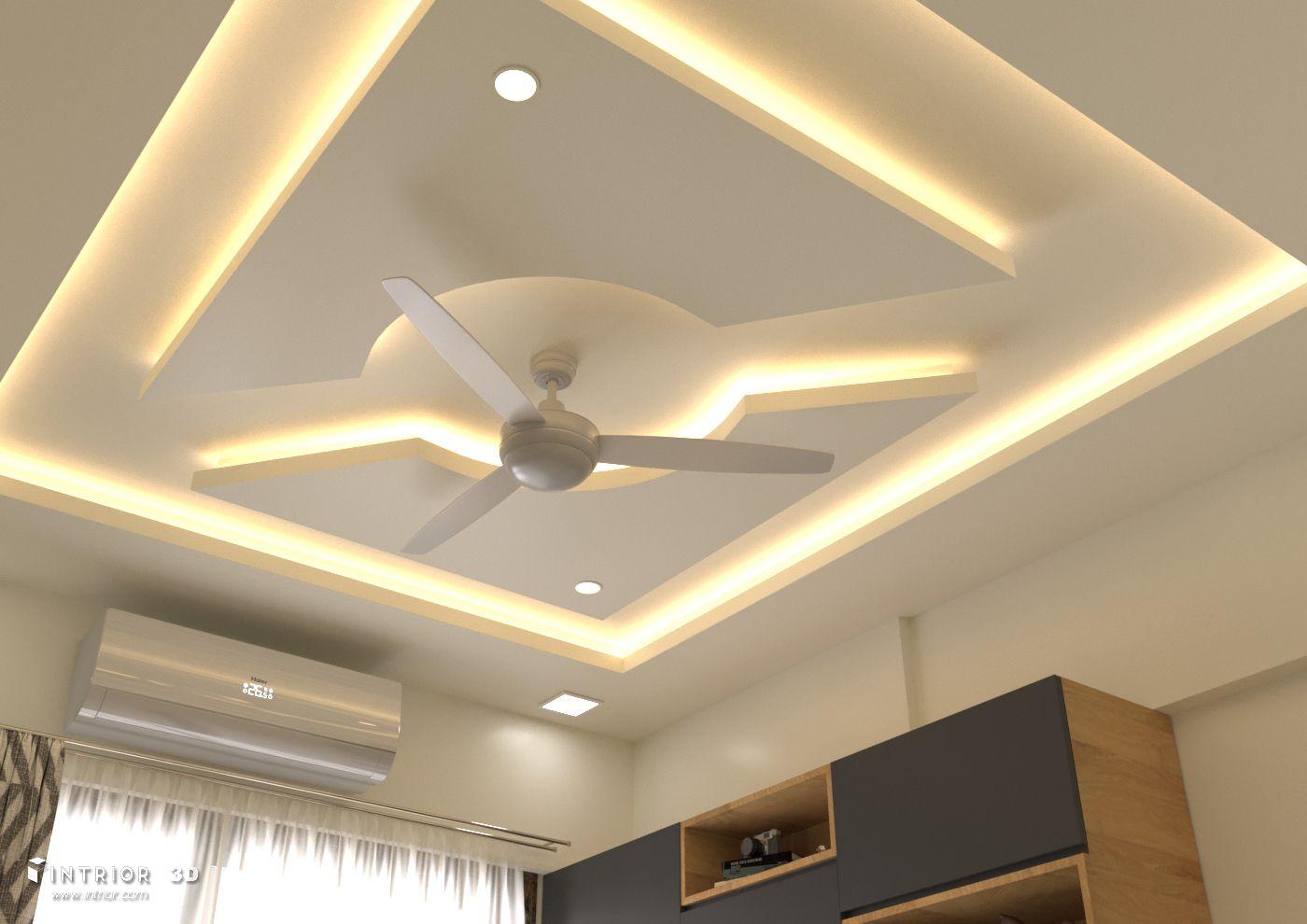 Pin By Alex Ortega On Techo Drywall Bedroom False Ceiling Design