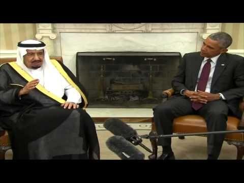 كلمة الملك سلمان في البيت الأبيض كاملة 4 9 2015 Talk Show Scenes Shows