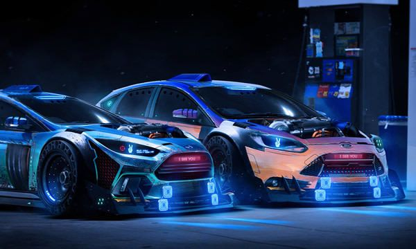 Need For Speed Illustrations Created By Japanese Ea Games Publisher Ford Focus Rs Car Wallpapers Porsche Sports Car