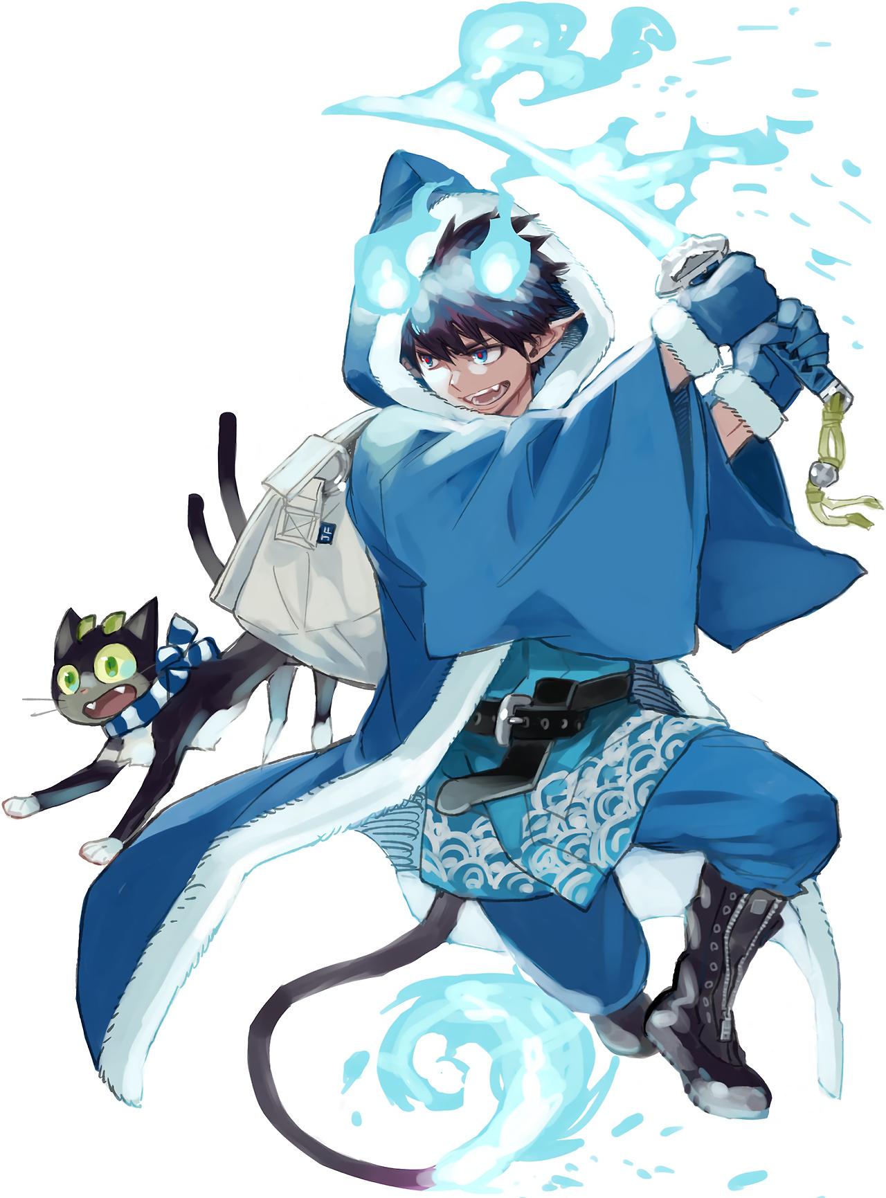 lucifer blue Tumblr Blue exorcist anime, Blue exorcist