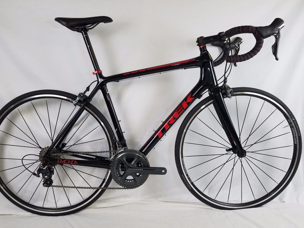 1f782e296aa 2015 Trek Emonda S 6 Road Bike SIZE 56cm Carbon 11 Spd Gloss Black/Red 1f # Trek