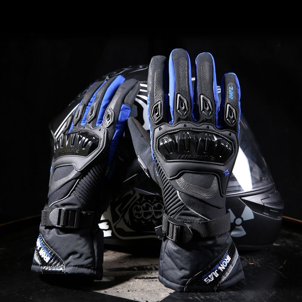 Motorcycle gloves ottawa - Motorcycle Gloves Touch Screen Winter Warm Waterproof Windproof Protective Gloves Guantes Moto Luvas Alpine Motocross Stars