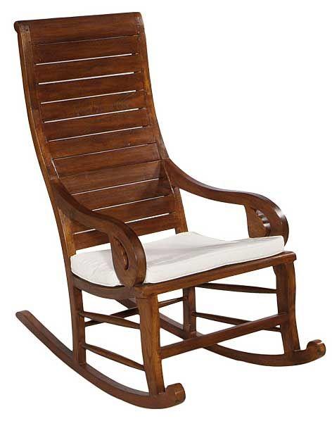 b8610a71c Mecedora Colonial Madera Con Cojin, esta mecedora balancin esta fabricada  en madera maciza de mindi con acabado en avellana nogal incluye cojin  loneta cruda ...