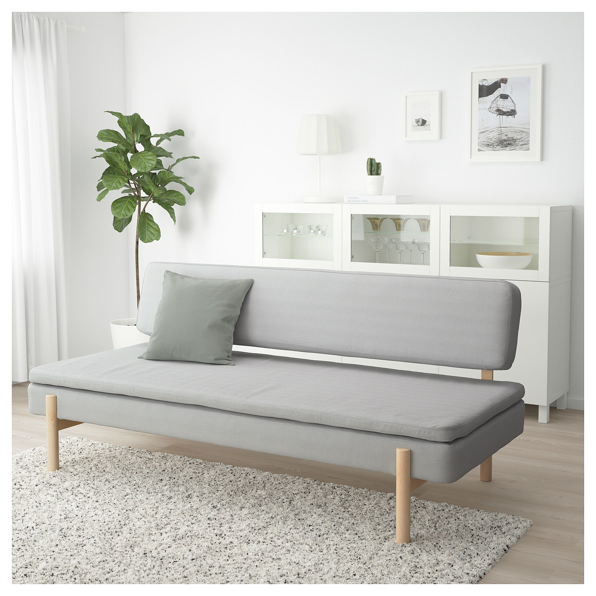Dreisitzer Sofa Ikea Ypperlig 3 Seat Sleeper Sofa Orrsta Light Gray In 2019 Future