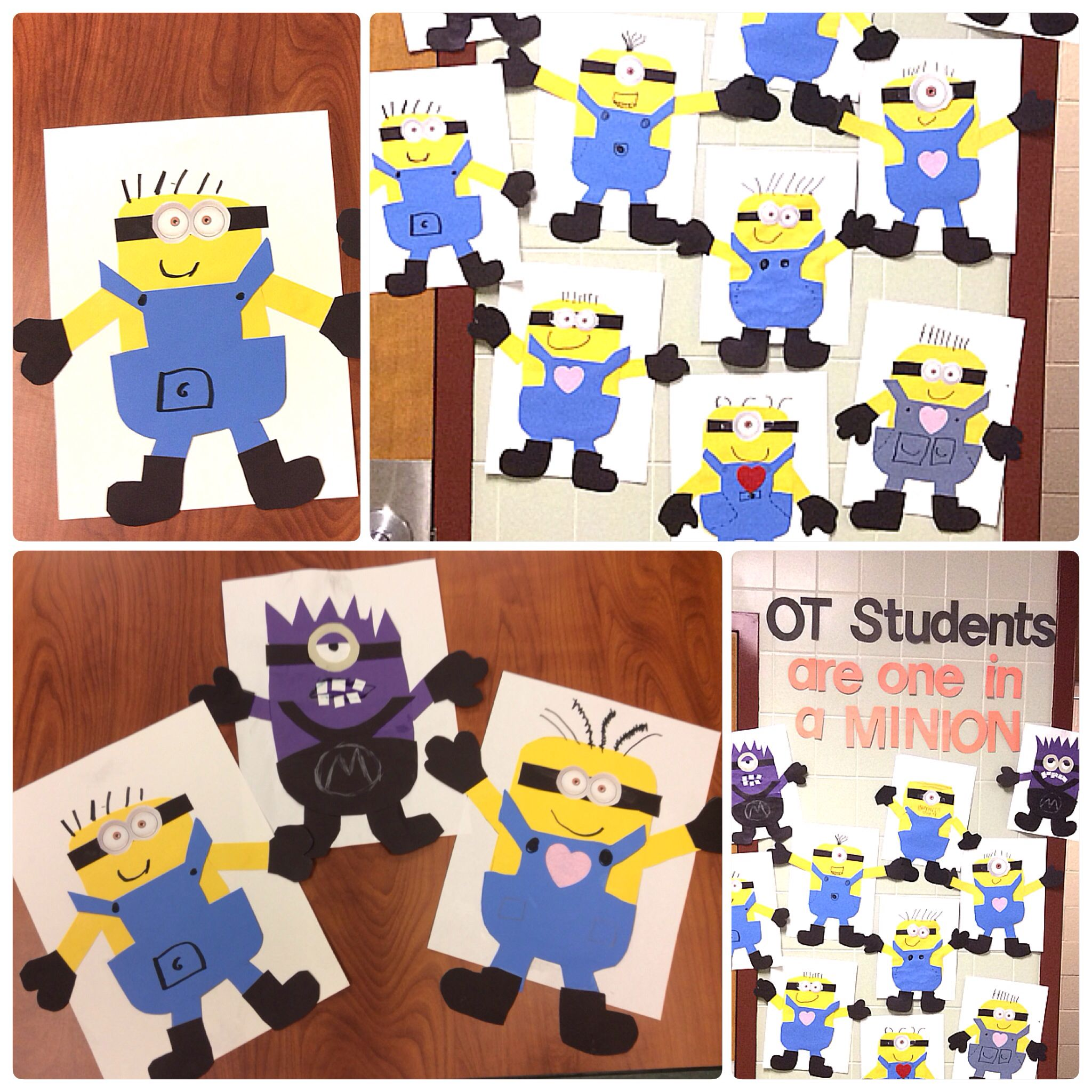 Occupational Therapy Bulletin Board Ot Students Are One