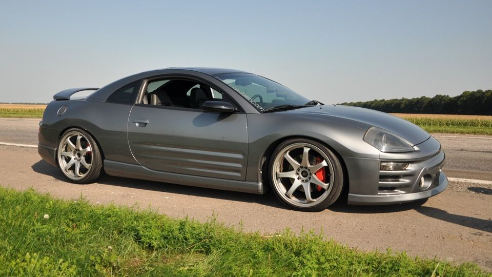 Image result for 2003 mitsubishi eclipse gt lowered