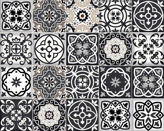 Conjunto de 12 * 2 (24 pc) teja mixta Plaza tatuajes de arte Gran artículo para decorar tu cuarto de baño, paredes planas cocina y ventanas * QUÉ INCLUYE * Conjunto de 12 * 2 (24 pc) mezclado diferentes azulejos retro español tradicional calcomanía cuadrada Aplicar esta etiqueta engomada etiqueta de azulejo tradicional hermosa en cualquier superficie plana (paredes, cerámica, ventanas, puertas). * Tallas disponibles * 1,9 x 1,9 pulgadas / 5 x 5 cm cada azulejo 3.9 x 3.9 pulgadas ...