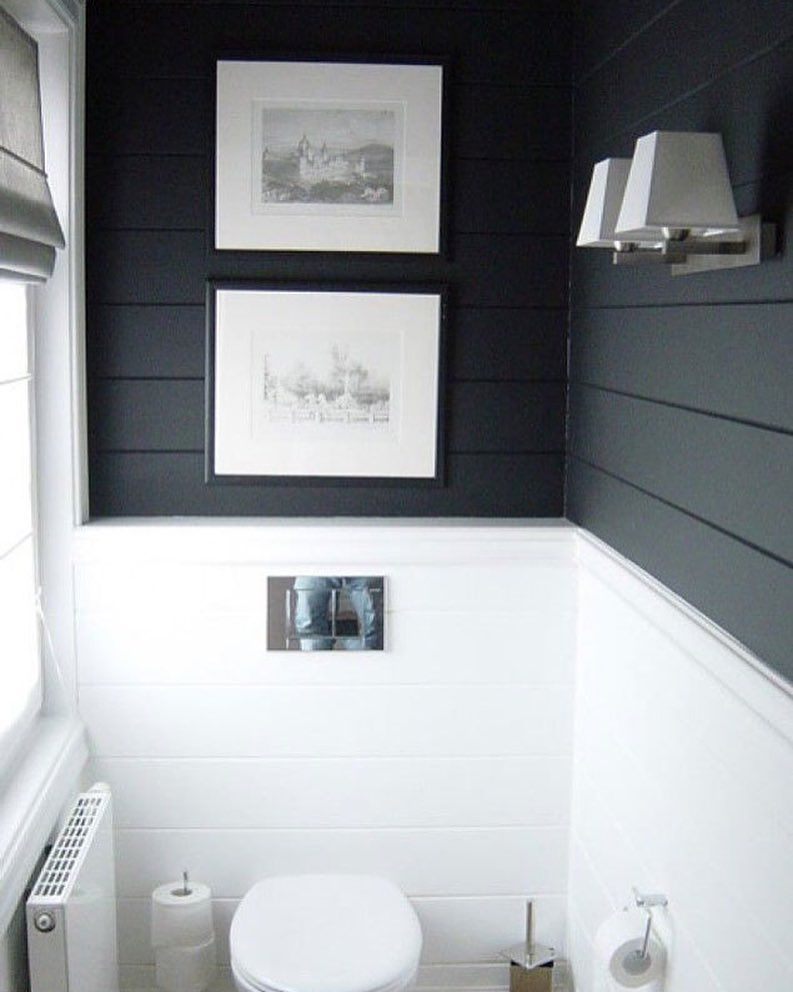 Black and white bathroom! | For the Home | Pinterest | Small ...