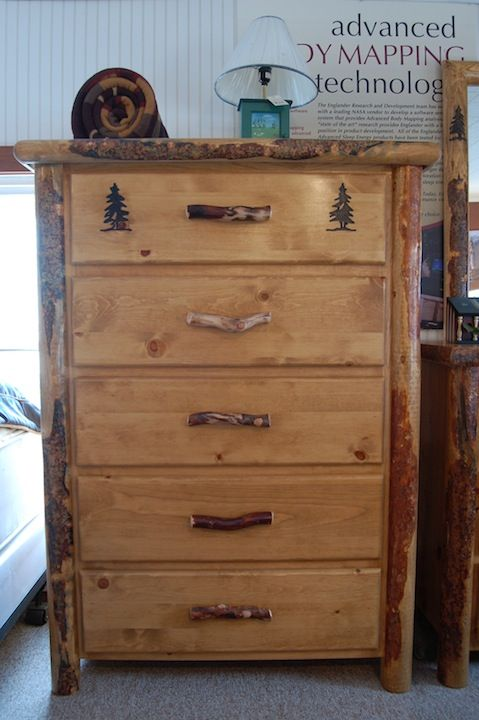 Check Out This Chest From The Utah Mountain Furniture Collection. Made From  Lodgepole Pine,