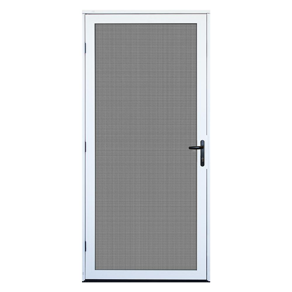 Unique Home Designs 36 in. x 80 in. White Surface Mount