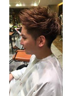 アフロート ルヴア 新宿 Afloat Ruvua アフロート田中リアルカット 3代目登坂広臣風ツーブロックヘア メンズヘアカット 髪型 流行り メンズヘアスタイルショート
