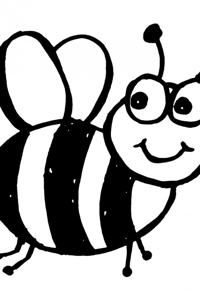 bee printable coloring page | Bumble Bee Coloring Page | download ...