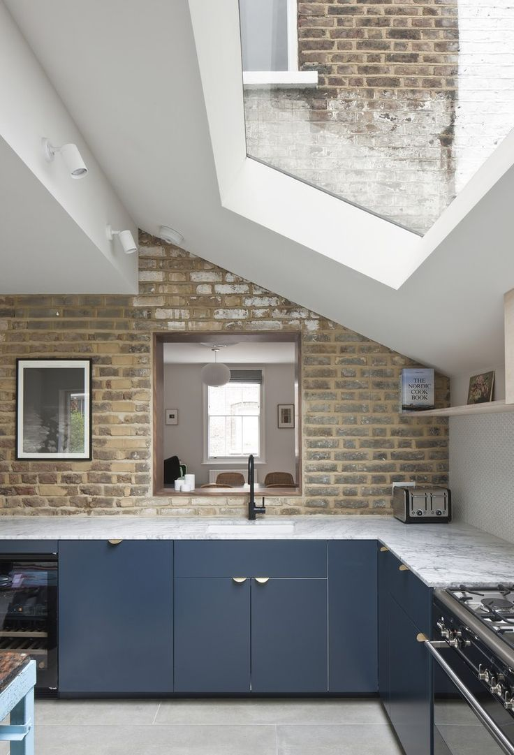 See How a Tiny Extension Turned This London Rowhouse Into a Dream Home