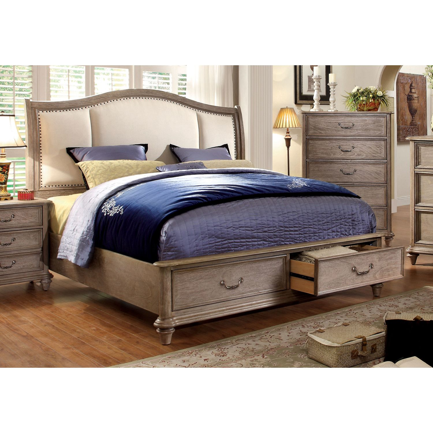 Grey Wood Bedroom Furniture Best Plaza Storage Bed  Wayfair  My Future Home Is Going To Be Review