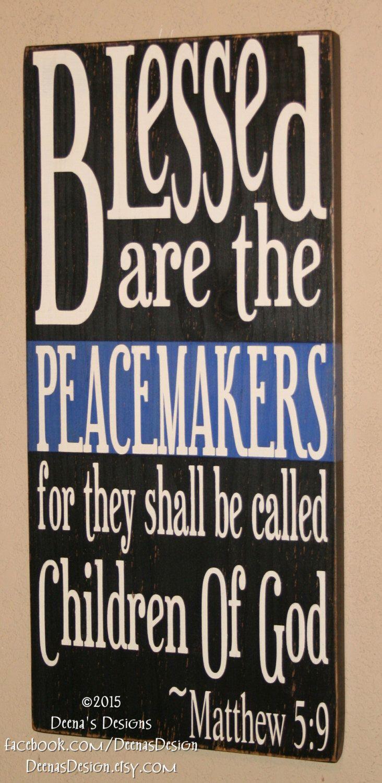 Faith Wall Decor police sign, police officer sign, leo sign, leo faith, police wall