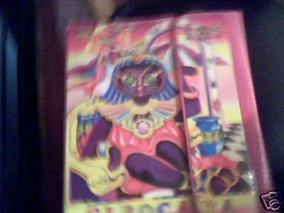 not a very good picture, but I saved forever to get this trapper keeper