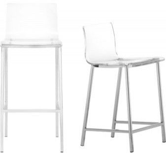 Vapor Bar Stool 189 00 This Acrylic Provides Comfort For Your Back Without Blocking