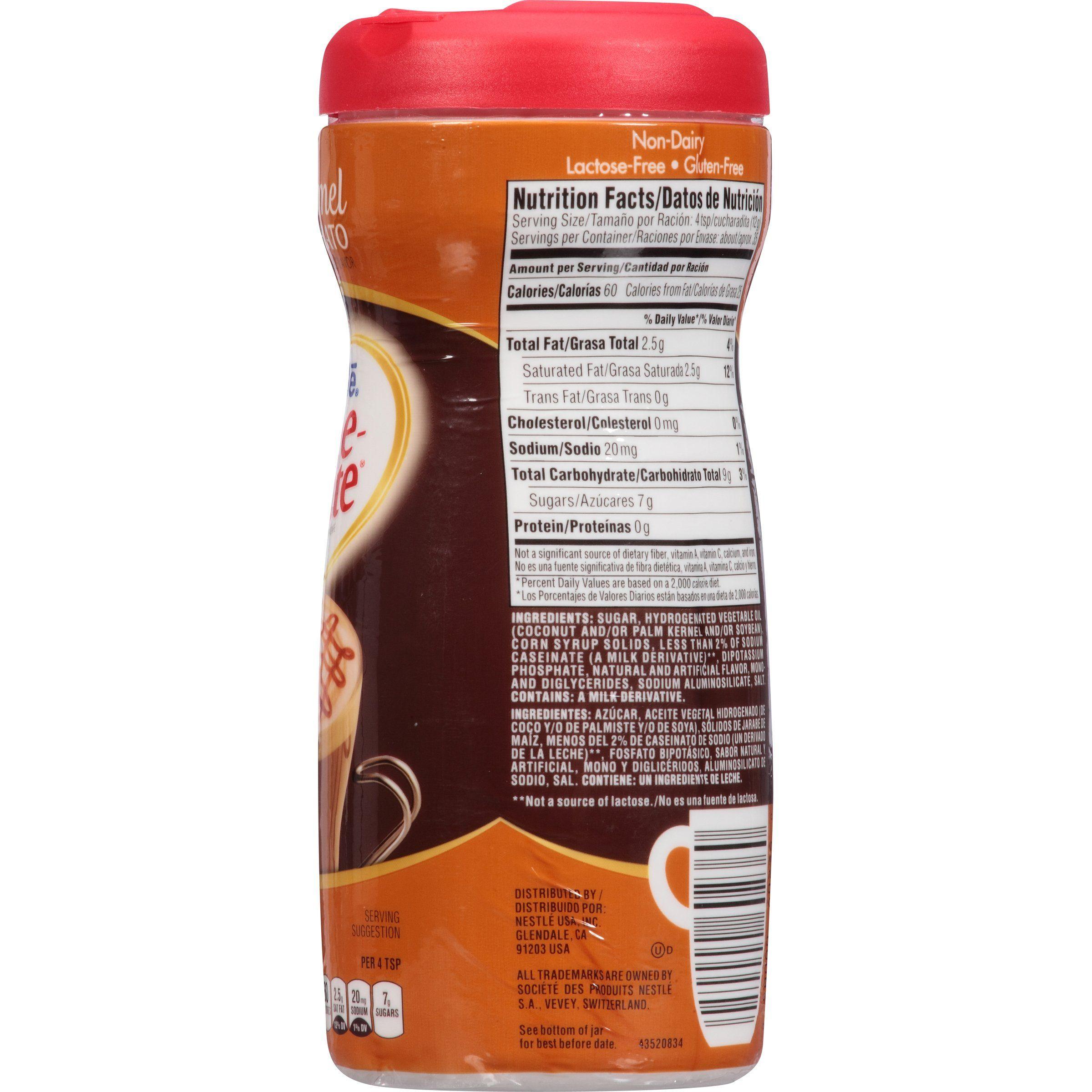 Coffeemate caramel macchiatto powder coffee creamer 15