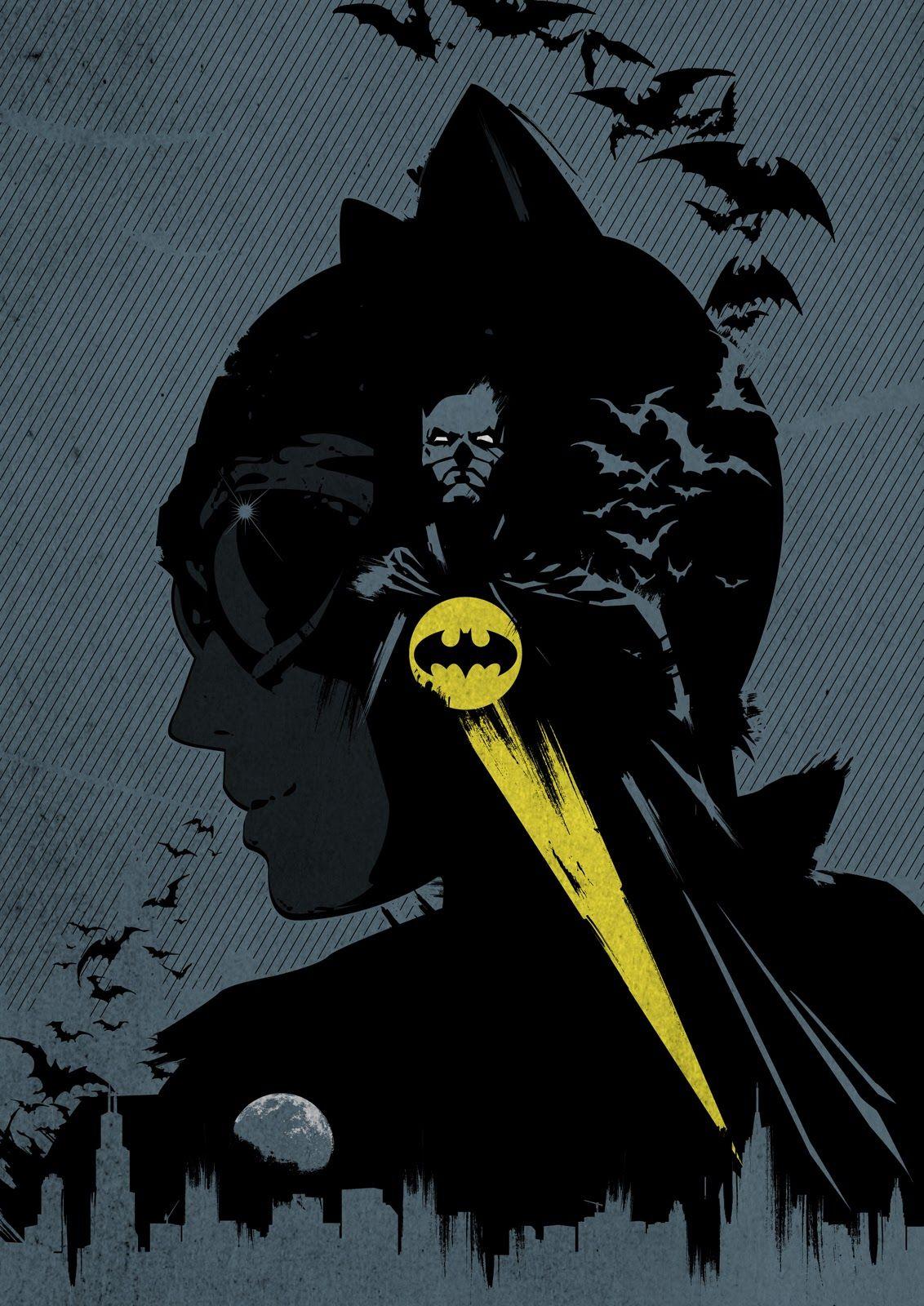Catwoman & Batman by Dan Shearn