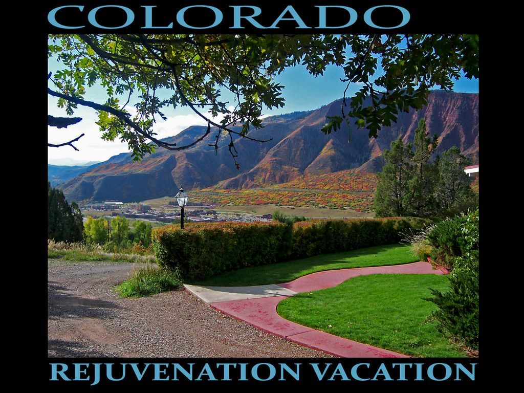 Overlooking The Colorado And Roaring Fork Rivers With