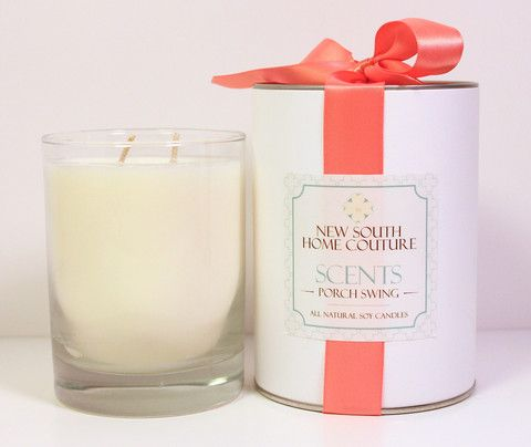 New South Home Couture Scents Porch Swing Candle This Smells Like A Gl Of Southern Sweet Tea