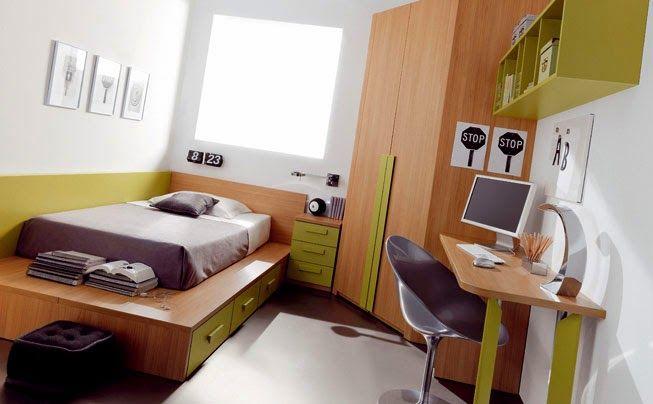 Dormitorios con Escritorios Funcionales para Estudiantes by